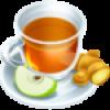 10 Apple ginger tea
