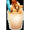 10 Peanut butter milkshake