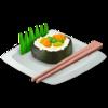 10 big sushi roll