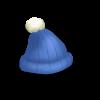 10 blue woolly hat