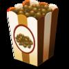 10 chocolate popcorn