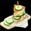 10 Cucumber sandwich