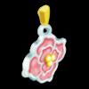 10 flower pendant