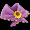 10 flower shawl