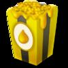 10 honey popcorn